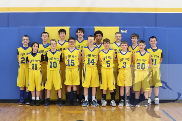JH Boys BB Team Pics