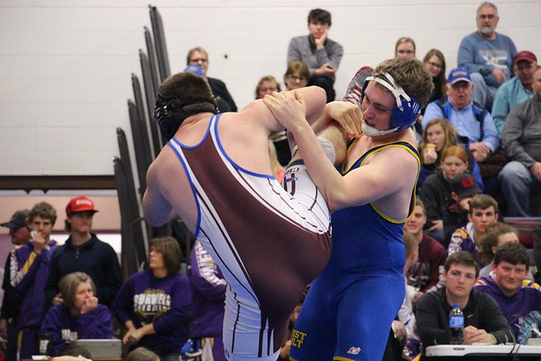 Jan 5  - Wrestling at Burwell