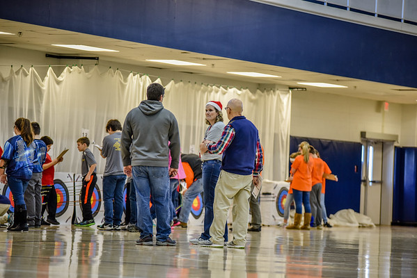 "Archery ""Jingle Bell 15 Meter Tournament"" 12-16-17"