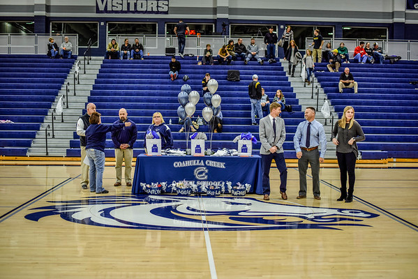 Senior Night 1-26-18