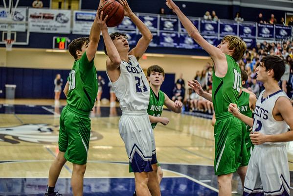 Varsity Boys vs Murray 1-23-18