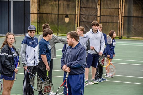 CCHS Tennis vs LFO 3-26-18