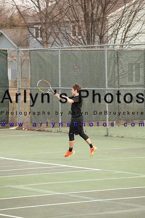 Boys Tennis vs St Peter