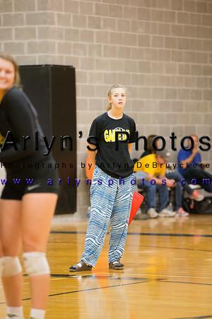 Hutch Volleyball vs Mankato West