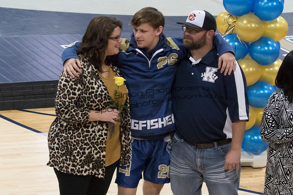 KHS WRESTLING SR NIGHT & CORONATION