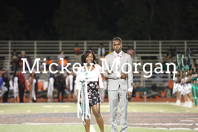 Homecoming crowning and Sweetheart 9-30-17