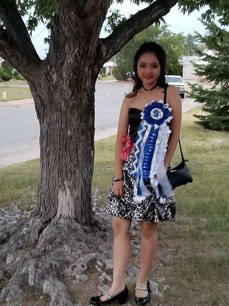 Snooker from Thailand on her way to the Homecoming dance in New Mexico!