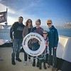 Evening Harbor Cruise with CFO Victor, IC Becky B, IC Alexis S. her daughter and IC Julie M.