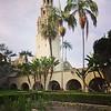 Free time exploring  Balboa Park and stumbling across a beautiful church!