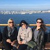 San Diego Harbor Cruise with coordinator Laura and San Francisco staff Katja and Brianne.