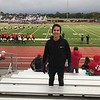 Javier from Spain attends his first American Homecoming game in North Dakota!
