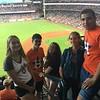 Aspect students in Texas enjoying a Houston Astros game!