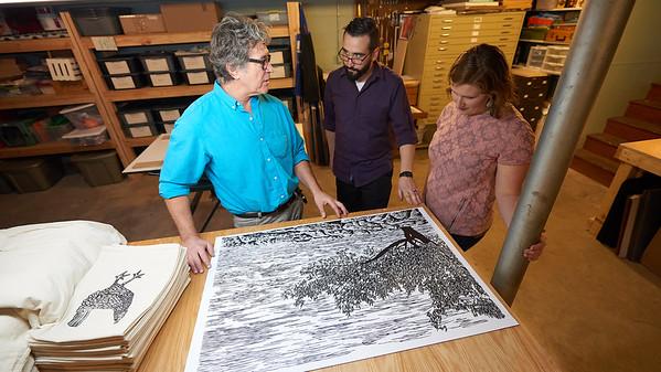 2017_UWL_Printmaking_Alumni_Sarah_Higley_Tim_Znidarsich_Joel_Elgin_0044