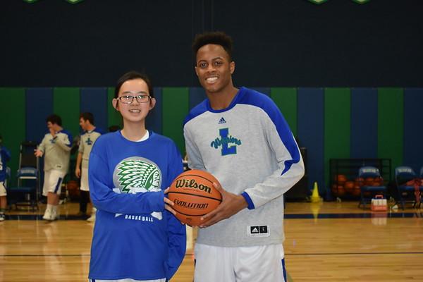 Basketball Beau and Sweetheart