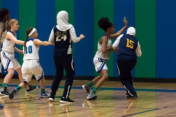 Varsity Girls Basketball vs Brighter Horizons 1.2.18