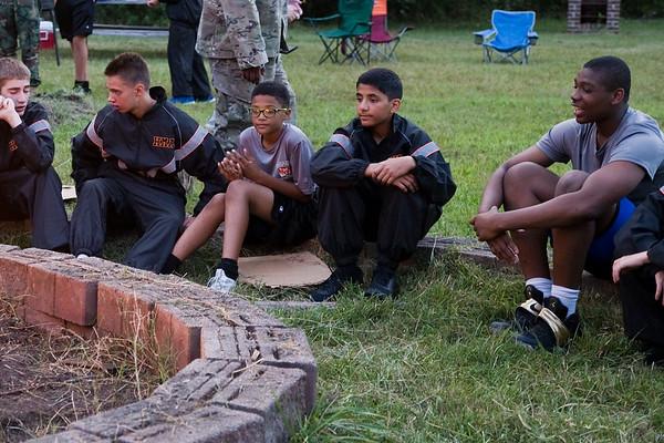 Boy Scout Troop - Welcome Bonfire