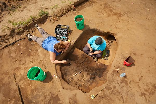 2018 UWL Archaeology Site Tremaine Holmen 0009