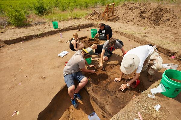 2018 UWL Archaeology Site Tremaine Holmen 0010