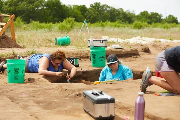 2018 UWL Archaeology Site Tremaine Holmen 0001