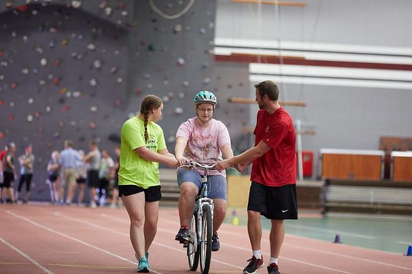2018 UWL Adaptive PE Bike Riding Training 0041