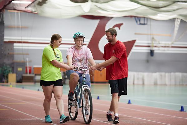 2018 UWL Adaptive PE Bike Riding Training 0046