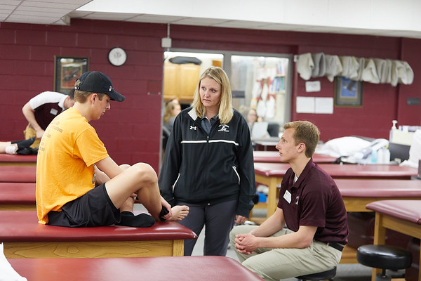 2018 UWL Athletic Training Lab 0018
