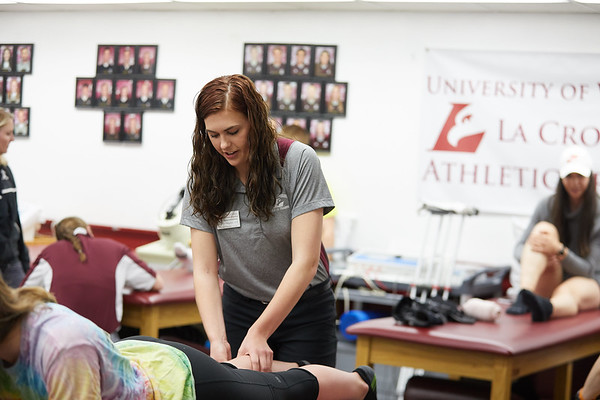 2018 UWL Athletic Training Lab 0035