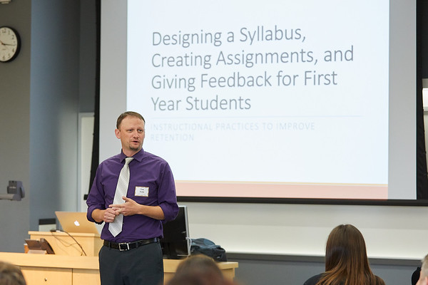 CATL Teaching Conference; Buildings; Centennial; Location; Inside; Classroom; People; Professor; UWL UW-L UW-La Crosse University of Wisconsin-La Crosse; Tim Dale