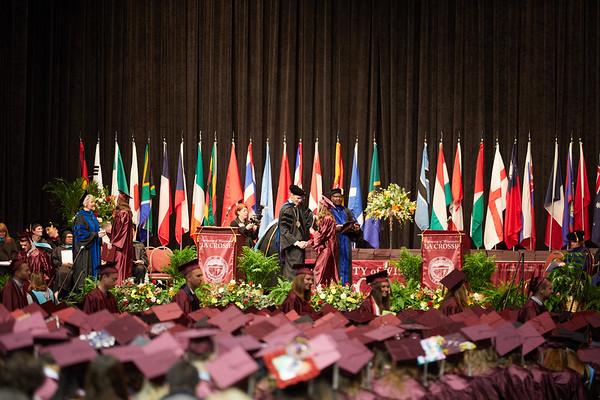 2018 UWL Spring Commencement Graduation 0024