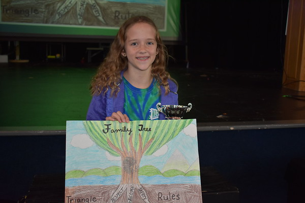 Lower School Triangle Rules Awards Assembly