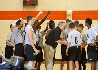 MS Basketball at 2nd Annual Hargrave Middle School Invitational