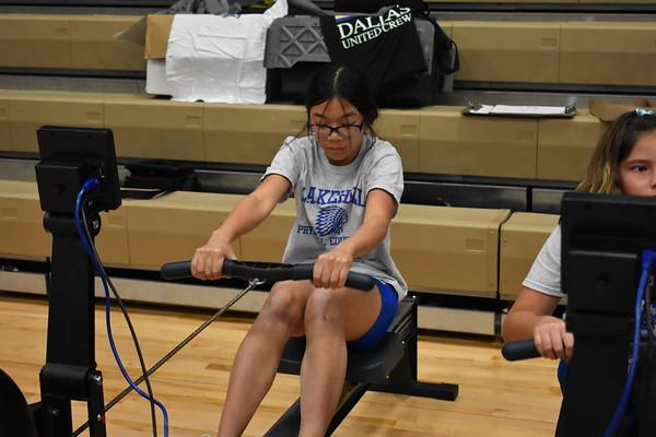 Middle School PE: Rowing