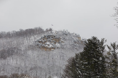 2020 UWL Winter Snow Bluffs 3