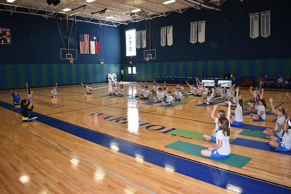Middle School PE Classes: Yoga
