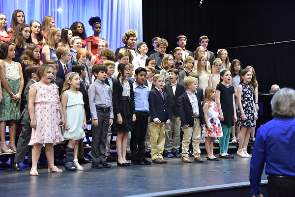 Middle and Upper School Spring Concert 2018