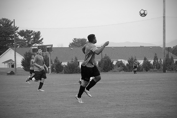 Soccer Scrimmage at New Covenant