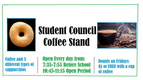 StuCo Coffee Stand