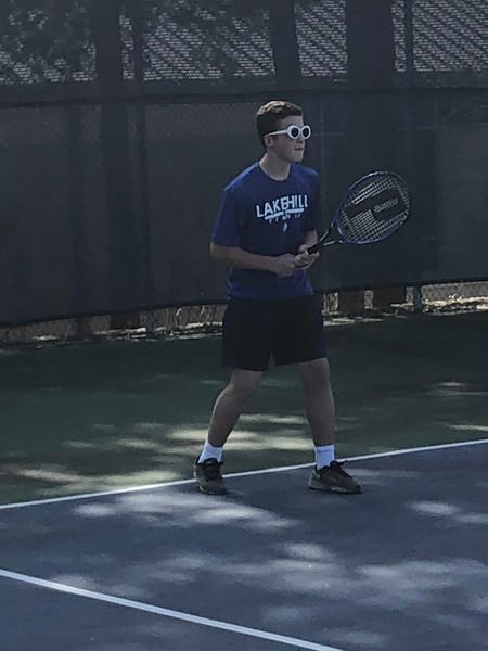 Varsity Tennis vs FBA