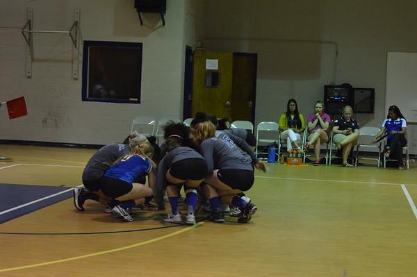 Varsity Volleyball at Cristo Rey 9.26.17