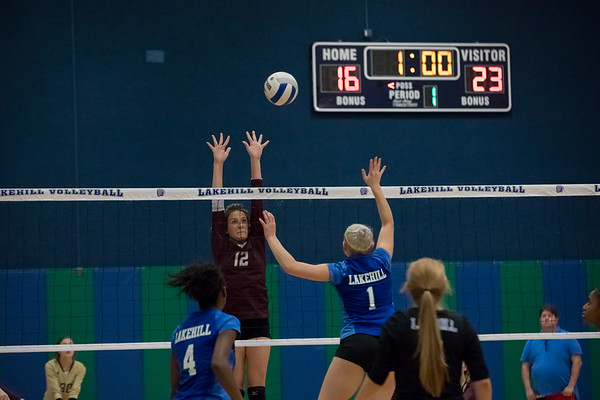 Varsity Volleyball vs Cornerstone 10.5.17