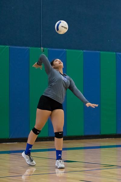 Varsity Volleyball vs The Highlands 9.12.17