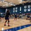 Lakehill Ladies varsity volleyball team in Dig Pink cancer awareness fundraiser game. October 10 2017