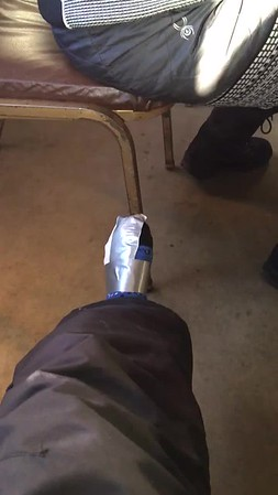 Foot warmer genius
