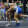 South Dakota State's Seth Gross and Air Force's Isaac Jiminez Saturday, March 03, 2018
