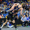 Northern Colorado's Dylan Gabel and South Dakota State's Martin Mueller Saturday, March 03, 2018