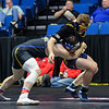 South Dakota State's Nater Rotert and Northern Colorado's Jacob Seely Saturday, March 03, 2018