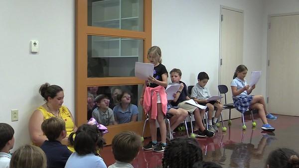 """2nd grade Robert Munsch play """"Pigs"""" - Ms. Kate's class"""