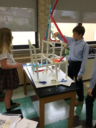 7th grade paper roller coasters