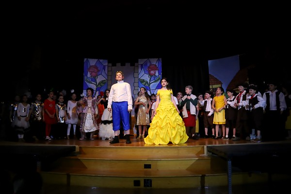 Beauty and the Beast, Jr.  -  Lower School musical