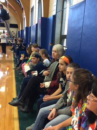 CSW Student-Teacher Volleyball Games